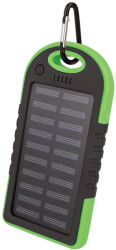 setty solar power bank 5000 mah green photo