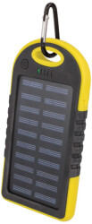 setty solar power bank 5000 mah yellow photo