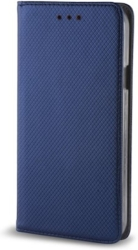 smart magnet flip case for huawei p40 pro navy blue photo