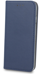 smart magnetic flip case for huawei p40 navy blue photo