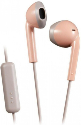 jvc ha f19m pt retro pink earbuds photo