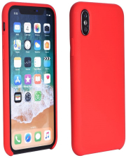 forcell silicone back cover case for samsung galaxy a41 red photo