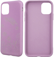 forever bioio ocean back cover case for samsung a40 pink photo
