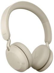 jabra bt headset elite 45h gold beige photo