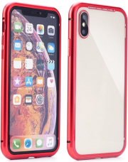 magneto back cover case for samsung a10 red photo