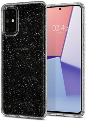 spigen liquid crystal back cover for s20 plus glitter crystal photo
