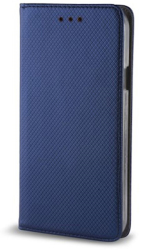 smart magnet flip case for samsung a21 navy blue photo