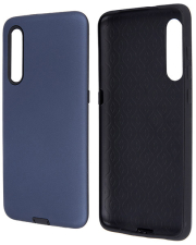 defender smooth back cover case for samsung a21s dark blue photo