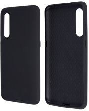 defender smooth back cover case for samsung a40 black photo