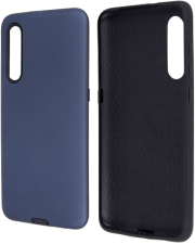 defender smooth back cover case for samsung a40 dark blue photo