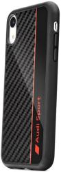 original audi carbon fibre case aus tpupcs10e r8 d1 bk for samsung s10e black photo
