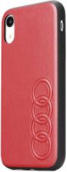original audi leather case au tpupcs10p tt d1 rd for samsung s10 red photo