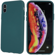 silicon back cover case for samsung a21s forest green photo