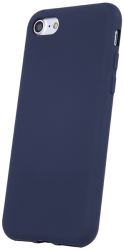 silicon back cover case for samsung a21s dark blue photo