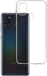 3mk clear back cover case for samsung galaxy a21s photo