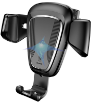 baseus gravity car mount black photo