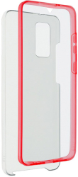 360 full cover case pc tpu for huawei y6p red photo