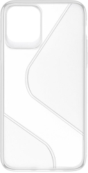 forcell s back cover case for huawei y6p clear photo