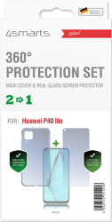 4smarts 360 protection set for huawei p40 lite clear photo