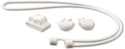4smarts 3in1 equipment set for apple airpods 2 airpods white photo