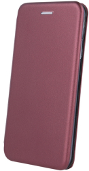 smart diva flip case for huawei y6p burgundy photo