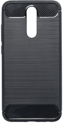 forcell carbon back cover case for xiaomi redmi 9c black photo
