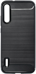 forcell carbon back cover case for xiaomi mi 10 lite black photo