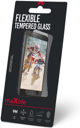 maxlife flexible tempered glass for xiaomi redmi note 9 photo