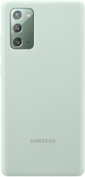 samsung silicone cover galaxy note 20 mint green ef pn980tm photo