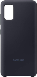 samsung silicone cover galaxy a41 black ef pa415tb photo