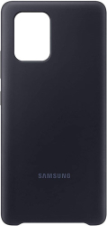 samsung silicone cover galaxy s10 lite black ef pg770tb photo