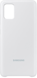 samsung silicone cover galaxy a51 white ef pa515tw photo