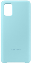 samsung silicone cover galaxy a51 blue ef pa515tl photo