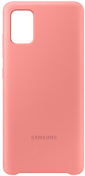 samsung silicone cover galaxy a51 pink ef pa515tp photo
