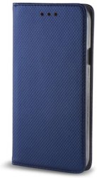 smart magnet flip case for samsung a01 navy blue photo