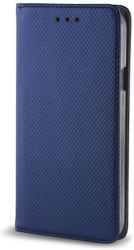 smart magnet flip case for samsung m51 navy blue photo