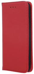 genuine leather flip case smart pro for iphone 11 maroon photo