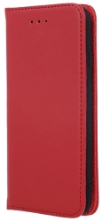 genuine leather flip case smart pro for huawei p40 lite maroon photo