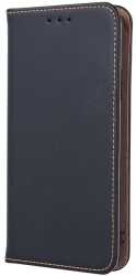 genuine leather flip case smart pro for samsung j5 2016 j510 black photo