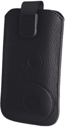pouch case slim up mono xxl samsung sii i9100 black photo
