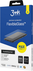 3mk flexibleglass max for apple iphone x black photo