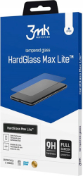 3mk hardglass max lite for apple iphone xs max black photo