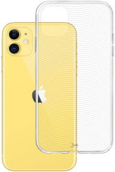 3mk armor back cover case for apple iphone 11 photo
