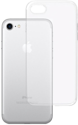 3mk clear back cover case for apple iphone 7 8 se photo