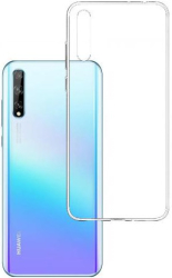 3mk clear back cover case for huawei y8p photo