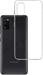 3mk clear back cover case for samsung galaxy a41 photo