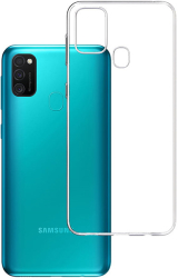 3mk clear back cover case for samsung galaxy m31 photo
