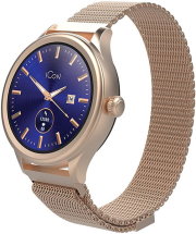 forever aw 100 smartwatch amoled icon rose gold photo
