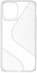 forcell s case back cover for samsung galaxy a41 clear photo