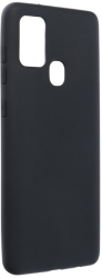 forcell soft back cover case for samsung galaxy a21s black photo